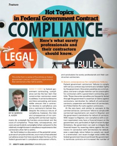 Hot Topics in Federal Government Compliance
